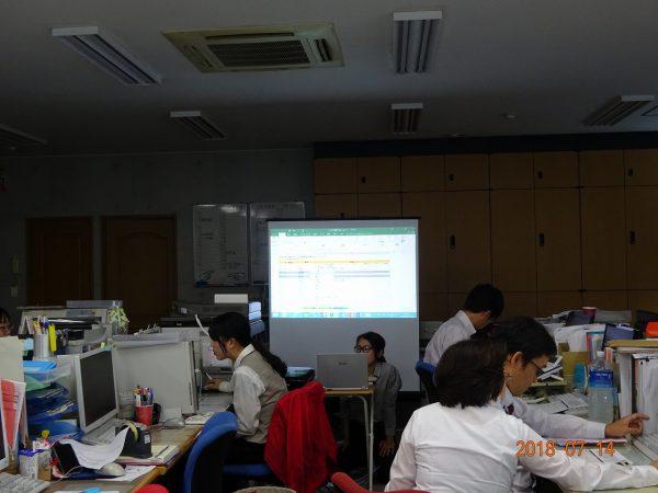 社内パソコン研修開催