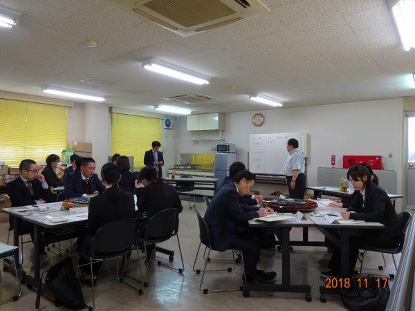 社員参加によるマネジメントゲーム研修
