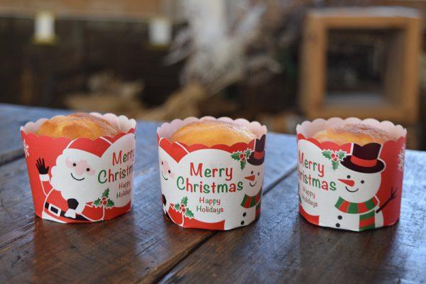 【ハロウィン、クリスマス】マフィンカップのご案内